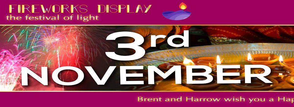 Harrow, Brent Diwali_Fireworks_header 2