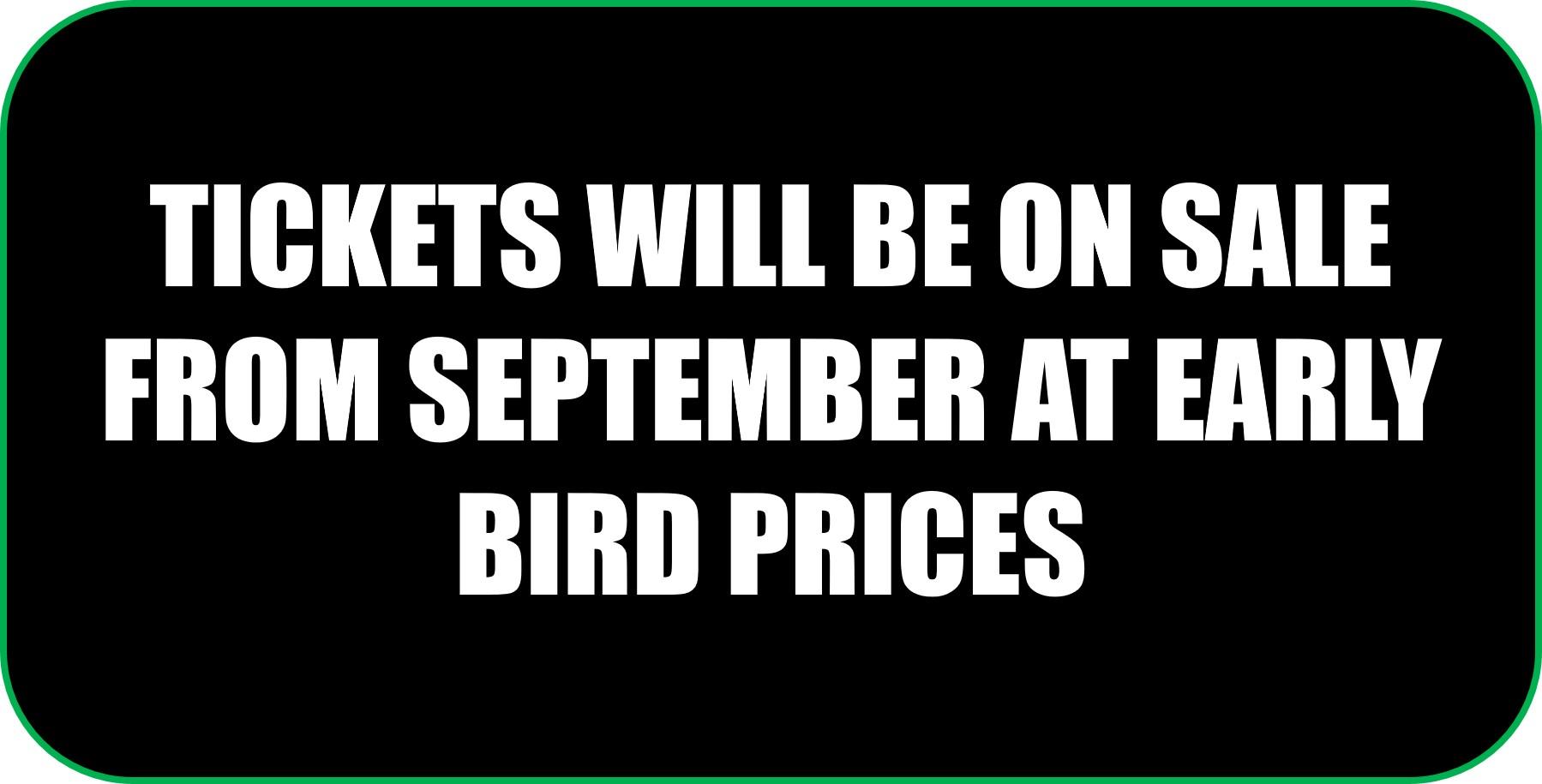 Fireworks Display Tickets on sale soon