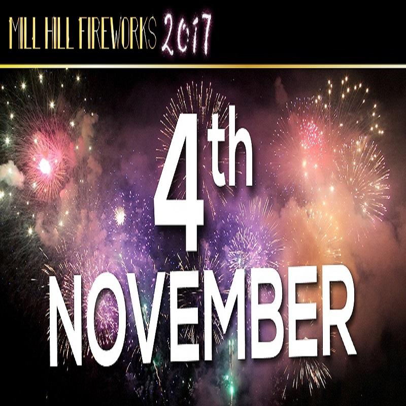 Mill Hill_Fireworks_2017_