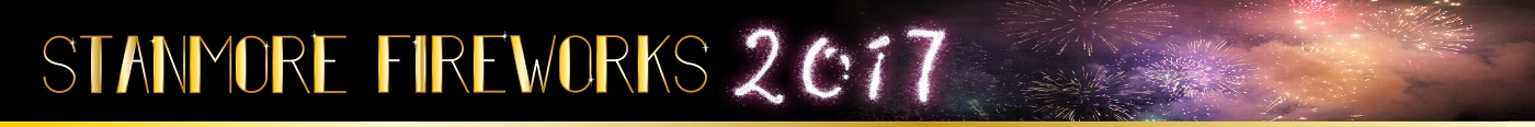 Stanmore Fireworks Display logo 2017