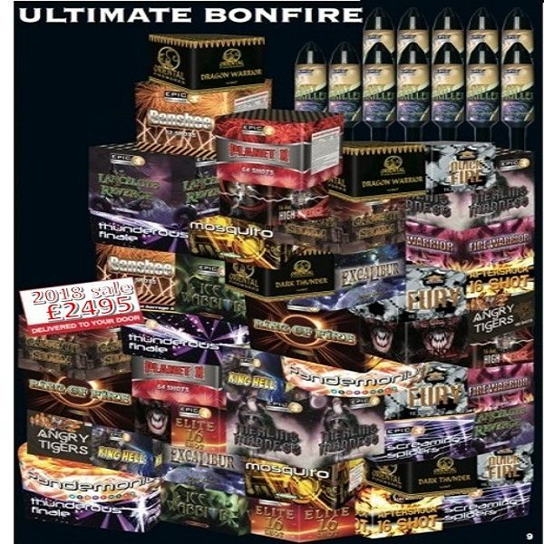 ultimate fireworks pack